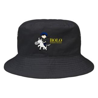 HarmonyCollege_Osyan-T-shirtのBOLOGIRL(kiiro) Bucket Hat