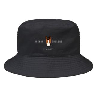 HARMONYCOLLEGE(白) Bucket Hat