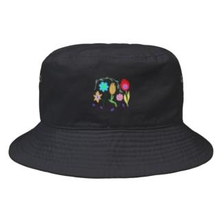 おはなたち Bucket Hat