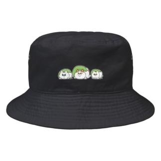 もちもちかぞく Bucket Hat