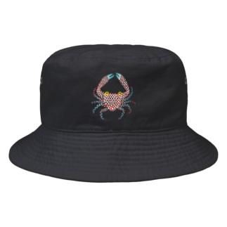 青カニん Bucket Hat