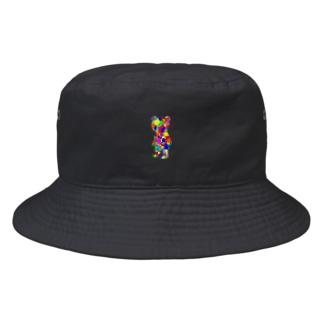 ペンキくま Bucket Hat