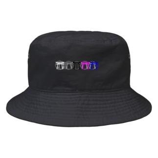 鳥居ちゃん Bucket Hat