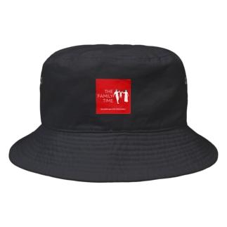 家族の時間(THE FAMILY TIME) 赤(BOX) Bucket Hat