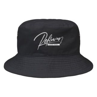 REFLEXION videopark (white) Bucket Hat