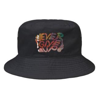 ねばーきぶあっぷ Bucket Hat