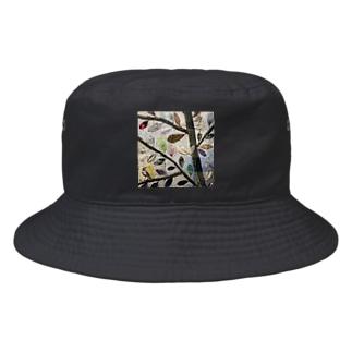 葉っぱ Bucket Hat