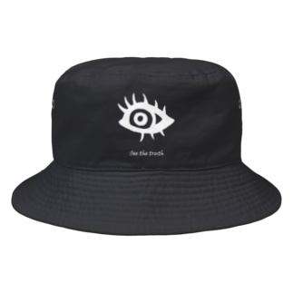 おめめ商店のSee the truth Bucket Hat