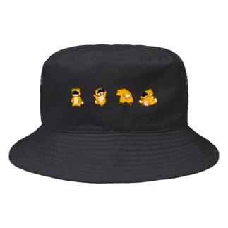 キツネ中村 Bucket Hat