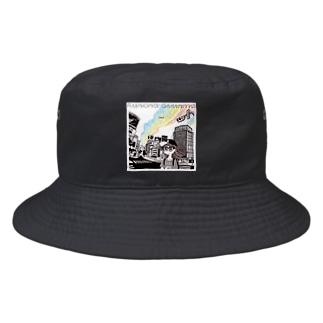 「Aurora diurna」ジャケデザイン2 Bucket Hat