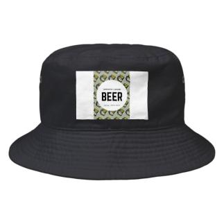 ビールマン Bucket Hat