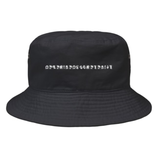 ShoyoRepublicのMONOCHROME IS COLORFUL インビギミロゴ バケットハット Bucket Hat