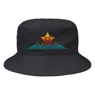 くまお画伯オンラインショップくまお堂の【白田亜利紗コラボ】Spectre RETRO Bucket Hat