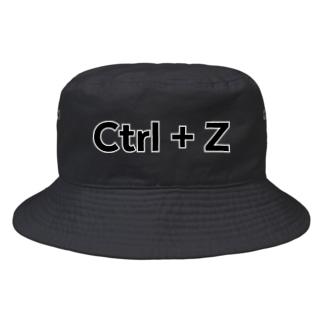 Ctrl+Z Bucket Hat