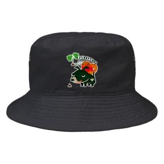 *suzuriDeMonyaa.tag*のCT68 愛してガイコッチャ Bucket Hat