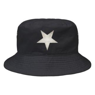 Inverted Blurstar Bucket Hat