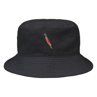 トウガラシの絵 Bucket Hat
