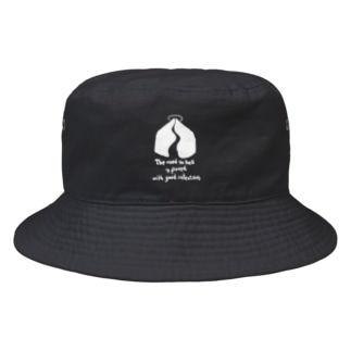 With good intentions Bucket Hat