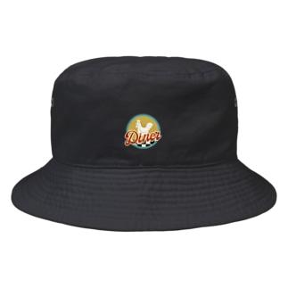 こっこダイナー Bucket Hat