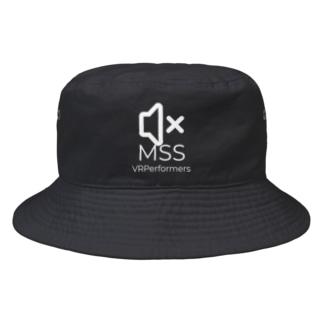MSSアイテム(白ロゴ) Bucket Hat