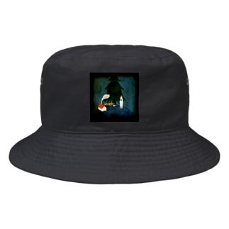 国が捉えたサンタの月面プレゼント工場 Bucket Hat