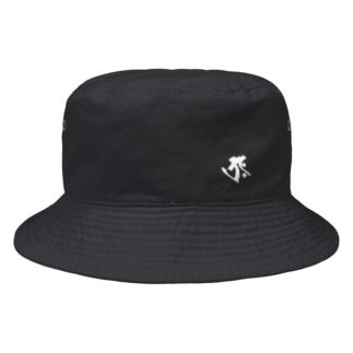 梵字[タラーク] 虚空蔵菩薩 Bucket Hat
