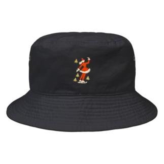 スケーターサンタ Bucket Hat