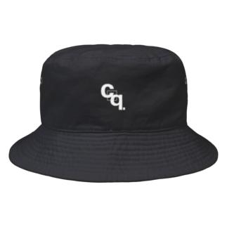 croquis.(クロッキー)の【suzuri限定】croquis./cq.ロゴ Bucket Hat