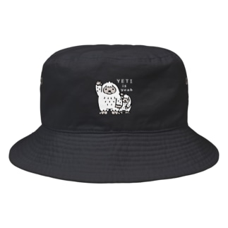 *suzuriDe Monyaa.tag*のCT94 YETI is yeah*B4000 Bucket Hat