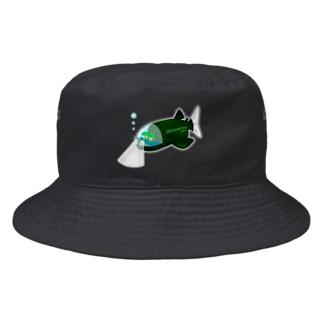 潜水艦デメニギス号 Bucket Hat