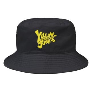 YELLOW JUNKIE ロゴ(黄色ver.) Bucket Hat