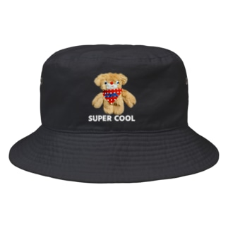 SUPER COOL(文字入り) Bucket Hat