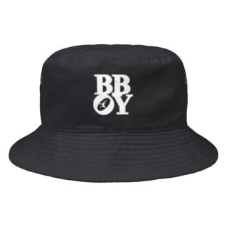 """B-BOY"" POP-ART風 Bucket Hat"