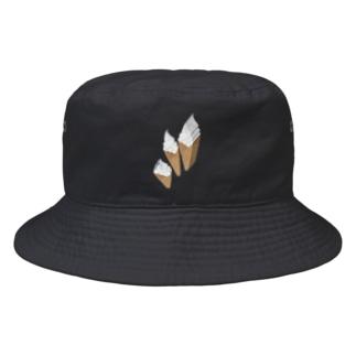 輪切りソフトクリーム Bucket Hat