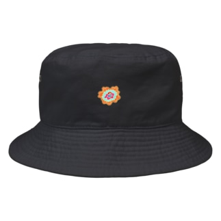 Pyramid Flower  Bucket Hat