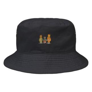 モンジャクシンズ御三家 Bucket Hat