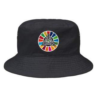 コビドのおやじ Bucket Hat