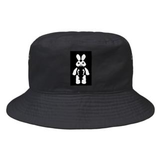 ウサギの人形 Bucket Hat