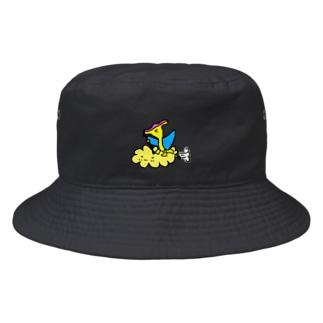 erichandmade × eric_joy_の筋斗雲プテラノドンくん Bucket Hat