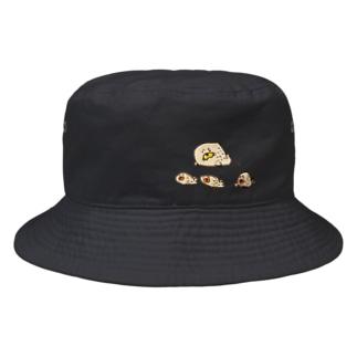5歳さん作アザラシの親子 Bucket Hat