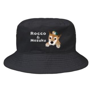 ロッコさん&もじゅ Bucket Hat