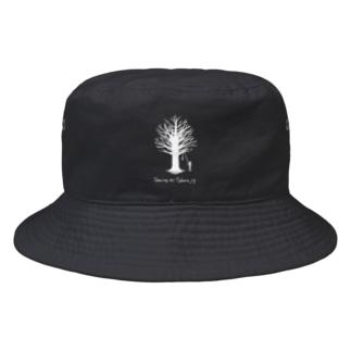 Tyburn jig -white- Bucket Hat