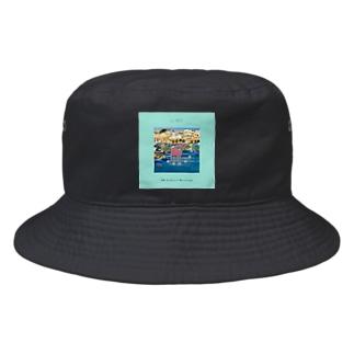 The Scenery of Marsaxlokk Bucket Hat