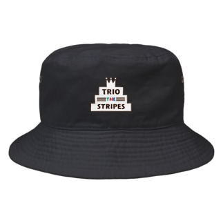 トリオ ザ ストライプ ロゴ Bucket Hat