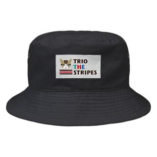 トリオ ザ ストライプ ロゴ M Bucket Hat