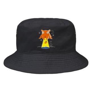 CT145 たこさんwinなーとメンダコUFO Bucket Hat