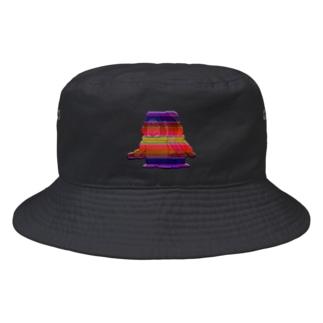 生きづらいぞ!ゴリ沢くんのレインボー・ゴリくん3人衆 Bucket Hat