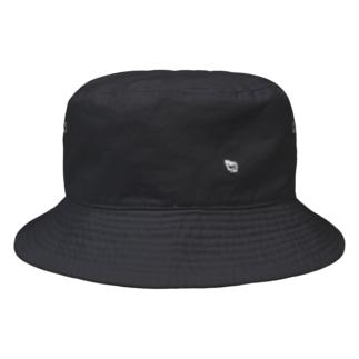 アウトラインロゴ Bucket Hat