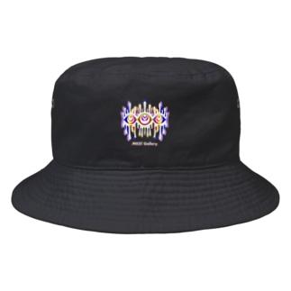 Melting eyes_hologram #2 Bucket Hat