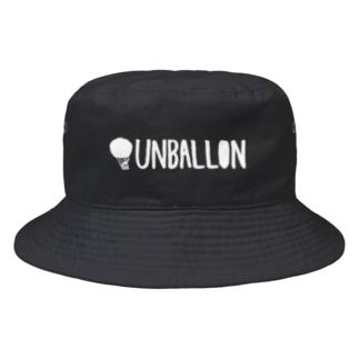 UNBALLON(白) Bucket Hat
